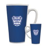 Full Color Latte Mug 17oz-Bulldog Head