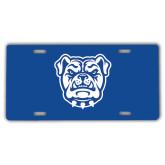 License Plate-Bulldog Head