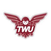 Medium Decal-Owl TWU