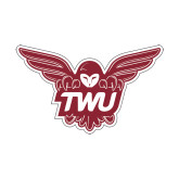 Small Decal-Owl TWU