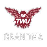 Small Decal-Grandma Owl TWU