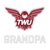 Small Decal-Grandpa Owl TWU