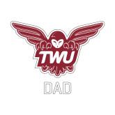 Dad Decal-Dad Owl TWU
