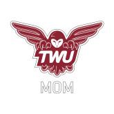 Mom Decal-Mom Owl TWU