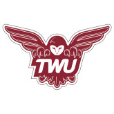 Extra Large Decal-Owl TWU