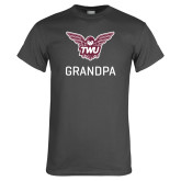 Charcoal T Shirt-Grandpa Owl TWU