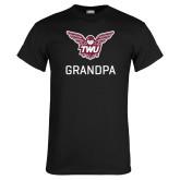Black T Shirt-Grandpa Owl TWU