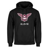 Black Fleece Hoodie-Alumni Owl TWU