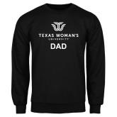 Black Fleece Crew-Dad Institutional Logo
