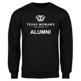 Black Fleece Crew-Alumni Institutional Logo