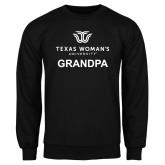 Black Fleece Crew-Grandpa Institutional Logo