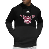 Adidas Black Team Issue Hoodie-Owl TWU