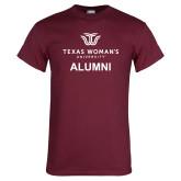 Maroon T Shirt-Alumni Institutional Logo