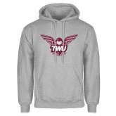 Grey Fleece Hoodie-Owl TWU