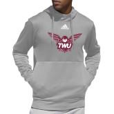 Adidas Grey Team Issue Hoodie-Owl TWU