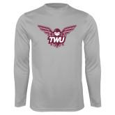 Performance Platinum Longsleeve Shirt-Owl TWU