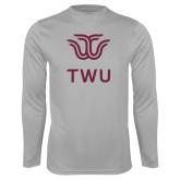Performance Platinum Longsleeve Shirt-Institutional TWU