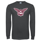 Charcoal Long Sleeve T Shirt-Owl TWU