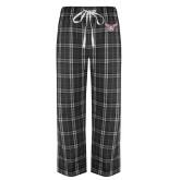 Black/Grey Flannel Pajama Pant-Owl TWU
