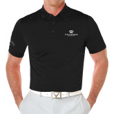 Callaway Opti Vent Black Polo-Institutional Logo