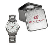 Ladies Stainless Steel Fashion Watch-Institutional Logo