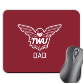 Full Color Mousepad-Dad Owl TWU