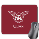 Full Color Mousepad-Alumni Owl TWU