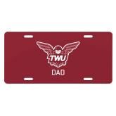 License Plate-Dad Owl TWU