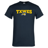 Navy T Shirt-Secondary Mark