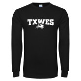 Black Long Sleeve T Shirt-Secondary Mark