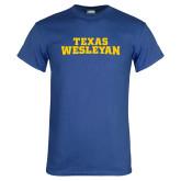 Royal T Shirt-Texas Wesleyan