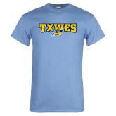 Light Blue T Shirt-Secondary Mark