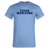Light Blue T Shirt-Texas Wesleyan