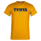 Gold T Shirt-Secondary Mark