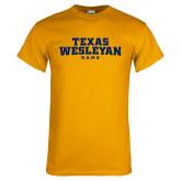 Gold T Shirt-Texas Wesleyan Rams