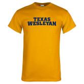 Gold T Shirt-Texas Wesleyan