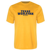 Performance Gold Tee-Texas Wesleyan Rams