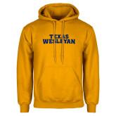 Gold Fleece Hoodie-Texas Wesleyan