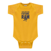 Gold Infant Onesie-TxWes Baby