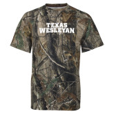 Realtree Camo T Shirt-Texas Wesleyan