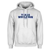 White Fleece Hoodie-Texas Wesleyan Rams