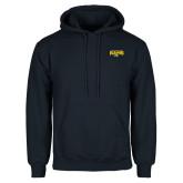 Navy Fleece Hoodie-Primary Mark