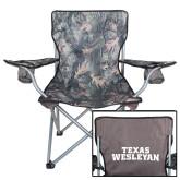 Hunt Valley Camo Captains Chair-Texas Wesleyan