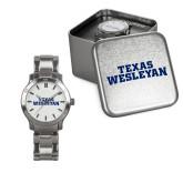 Ladies Stainless Steel Fashion Watch-Texas Wesleyan