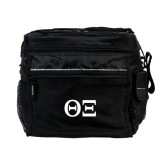 All Sport Black Cooler-Greek Letters - One Color