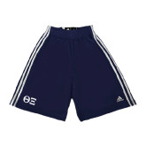 Adidas Climalite Navy Practice Short-Greek Letters - One Color