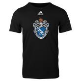 Adidas Black Logo T Shirt-Crest