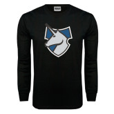 Black Long Sleeve TShirt-Unicorn