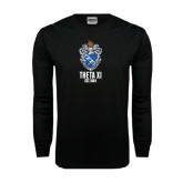 Black Long Sleeve TShirt-Crest Est Year