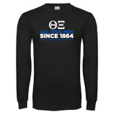 Black Long Sleeve TShirt-Founders Day - Slogan